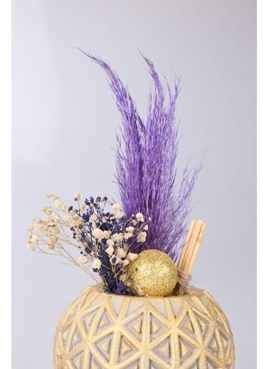 Kibrithane Çiçek Yapay Çiçek Kuru Çiçek Aranjman Kc00200731 Renkli